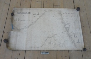Søkort, Skagerrak, Norge, Sverige, Skagen