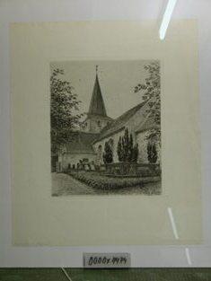 Radering, Bregninge Kirke