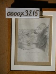 Tegning, Kapt. Binas, tegnet af J.E.C. Rasmussen