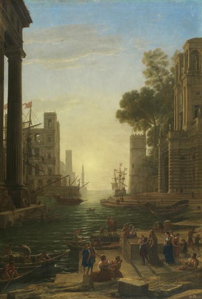 El embarco de Santa Paula Romana
