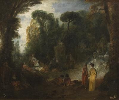 Fiesta en un parque