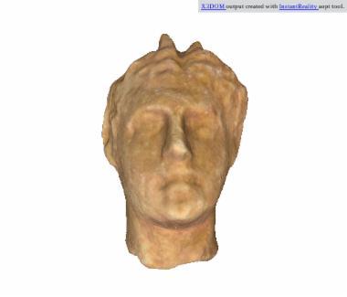 Μαρμάρινη κεφαλή σατύρου [Λ 109]