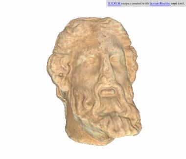 Μαρμάρινη κεφαλή ανδρικής μορφής [Λ 108]