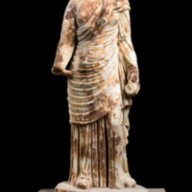 Μαρμάρινο, άγαλμα της θεάς Υγείας [Λ 49]