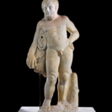 Μαρμάρινο άγαλμα Ηρακλή [Λ 41]