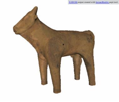 Ειδώλιο ταύρου [Π 7210]