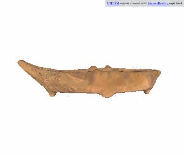 Πήλινο ομοίωμα πλοιαρίου ή λέμβου [Π 50]
