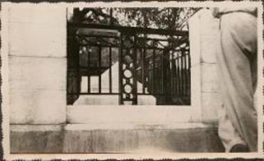 Skyros. Tomb of Rupert Brooke