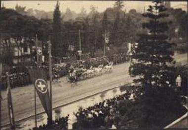 Wedding Procession of Crown Prince Paul & Princess Frederika
