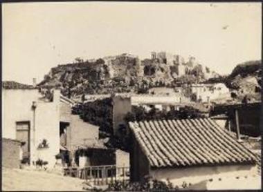 Plaka, with view towards the Acropolis