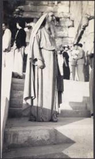 King Paul visits the Acropolis.Reception for King Paul's visit to Acropolis 1936. Ancient Philosopher.