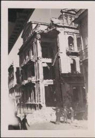 Athens. Photo taken from door of Kosmopolit