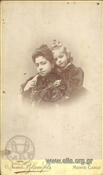 Πορτραίτο μητέρας και κόρης.