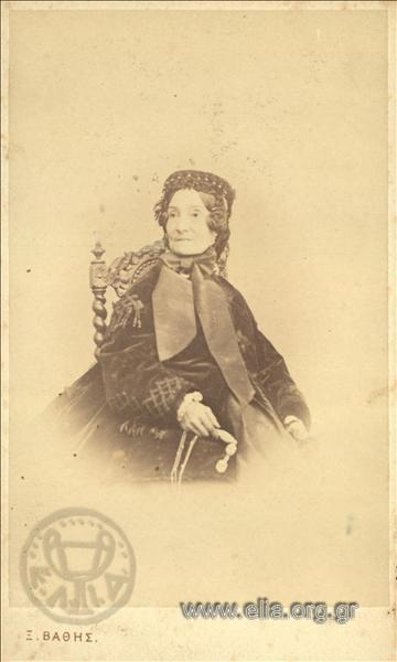 Αγλαΐα Αργυροπούλου (1810-1871) το γένος Rosetti.