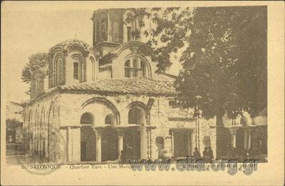 Salonique - Quartier Turc - Une Mosquée.
