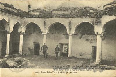 Vieux Bains Turcs à Yenidje (Vardar).