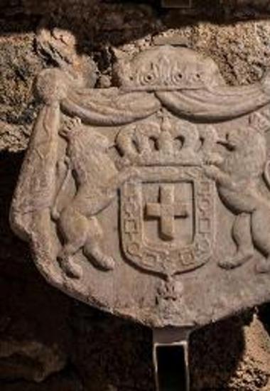 Μαρμάρινος θυρεός της δυναστείας του Όθωνα