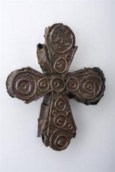 Χάλκινος σταυρός-λειψανοθήκη
