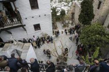 Παλαιό καθολικό Μονής Αγίου Γεωργίου