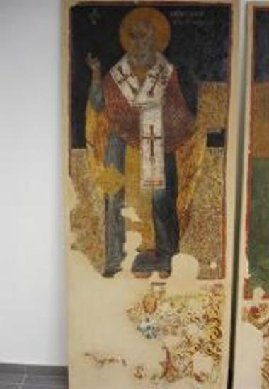 Τοιχογραφία του Αγίου Αθανασίου Αλεξανδρείας