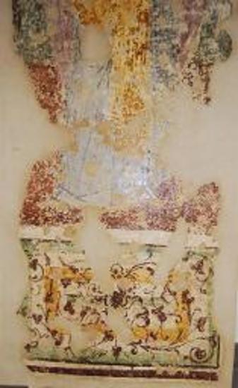 Τοιχογραφία του αγίου Νικολάου