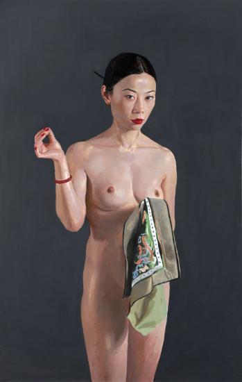Shi Xiang Portrait Nude
