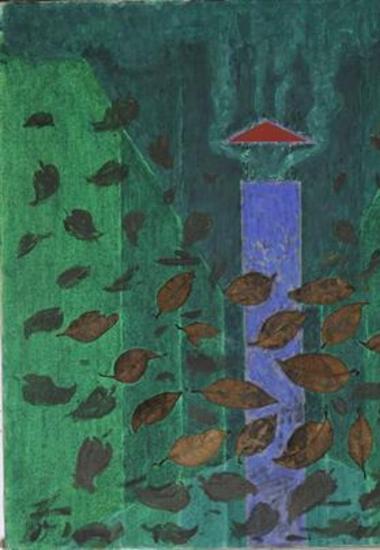 Καμινάδα με φύλλα