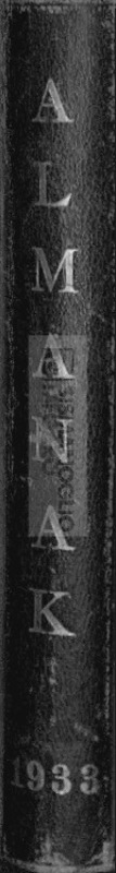 1933 Almanak / Matbuat Cemiyeti tarafından Selim Nüzhet beye tertip ettirilmiştir