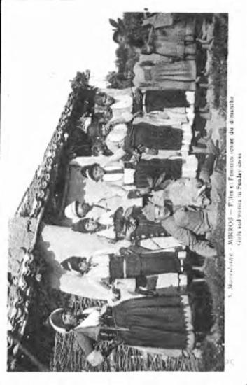 macedoine - mikros filles et femmes tenue du Dimanche = girls and women in Sunday dress[Γραφικά]
