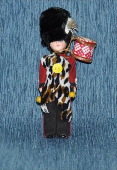 Vintage 1960's Scottish British hard plastic doll [Κούκλα]