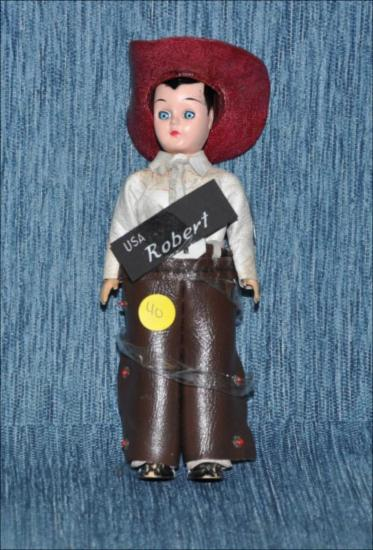 Cowboy vintage doll : Robert [Κούκλα]