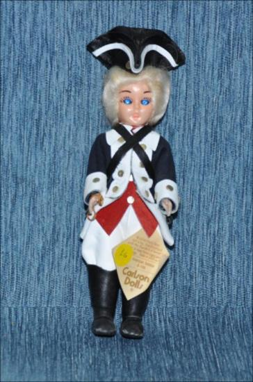 Revolutinary war american soldier doll [Κούκλα]
