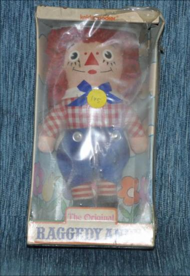 Paggedy Andy : America's folk doll - The original Raggedy Andy doll [Κούκλα]