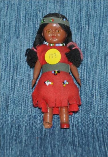 South American vintage doll [Κούκλα]
