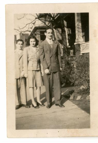 Οικογένεια Στέφανου Κόρτη στην Αμερική