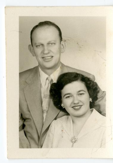 Η Ελένη Κόρτη με το σύζυγό της Νίκο Αραμπατζή