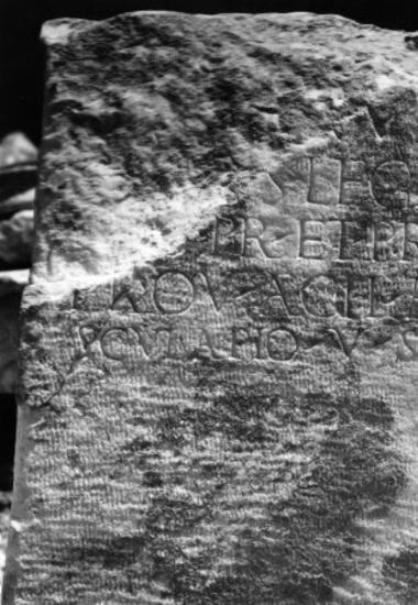 Achaïe II 008: Αναθηματική στον Ασκληπιό ενός αυτοκρατορικού πρεσβευτή και ανθυπάτου Αχαΐας