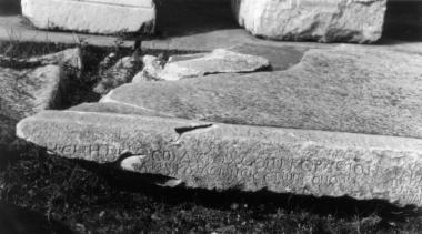ILeukopetra 098: Απελευθέρωση δύο δούλων με ανάθεση στην             Αυτόχθονα Μητέρα των Θεών από τον Αίλιο Φίλιππο.