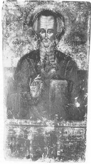 Άγιος Χαράλαμπος με σκηνές μαρτυρίου, St Charalampos with martyrdom scenes