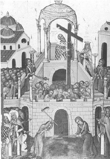 Εύρεση Τιμίου Σταυρού, The Finding of the Holy Cross