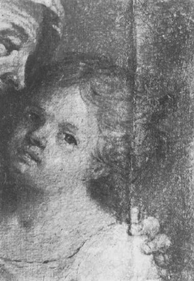 Διδασκαλία Θεοτόκου (λεπτομέρεια), The teaching of the Virgin (detail)