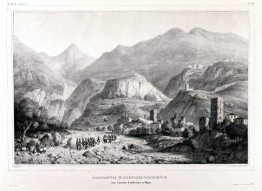 Η Σκαρδάμουλα και η αρχαία Καρδαμύλη στην επαρχία της Ανδρουβίστας στη Μάνη
