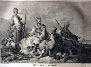 Αλβανοί στρατιώτες, Soldats Albanois