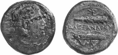 Χάλκινο νόμισμα Μακεδονικού βασιλείου, Βασιλιάς: Αλέξανδρος Γ'