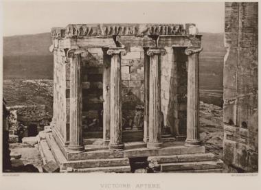 Ο ναός της Αθηνάς Νίκης στην Αθήνα.