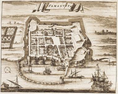 Χάρτης της Αμμοχώστου.