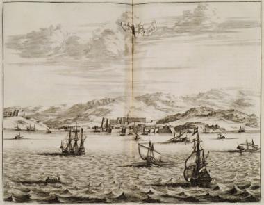 Άποψη του λιμανιού της Τενέδου.