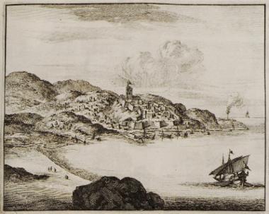 Άποψη της Σητείας με το λιμάνι.