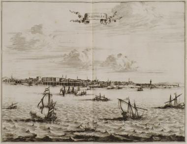 Άποψη του λιμανιού της Καλλίπολης.