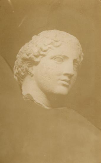 Κεφαλή Νίκης από το Δυτικό Αέτωμα του Παρθενώνα το οποίο αποσπάστηκε κατ' εντολή του Μοροζίνι και μεταφέρθηκε στη Βενετία.